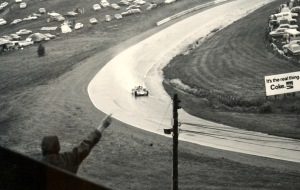 Jackie Stewart winning the 1971 Canadian Grand Prix in the rain at Mosport