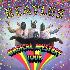 The Beatles Magical Mystery Tour Album Cover